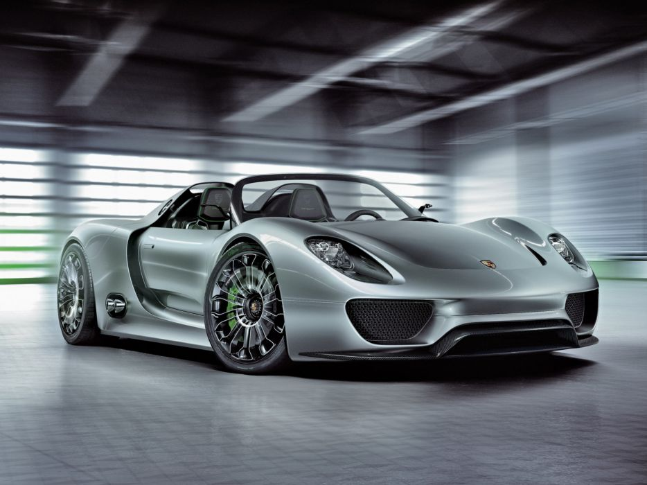 2010 Porsche 918 Spyder Concept supercar supercars  k wallpaper