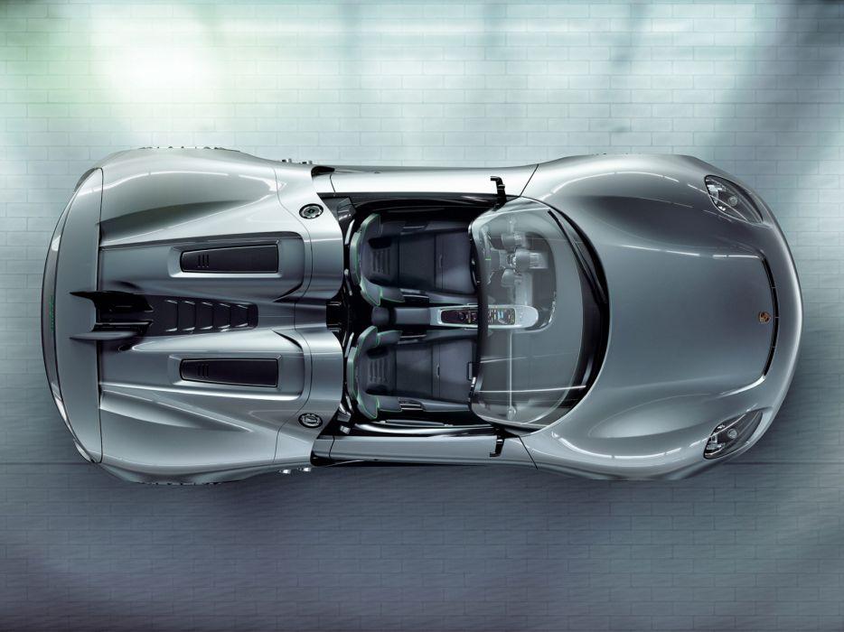 2010 Porsche 918 Spyder Concept supercar supercars interior            g wallpaper