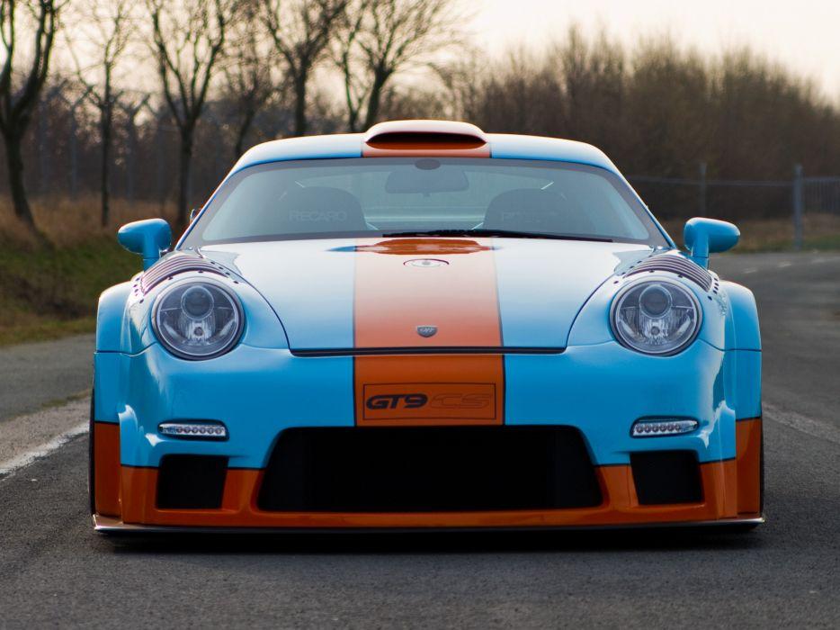 2011 Porsche 9ff GT9-CS 911 997 turbo race racing   g wallpaper