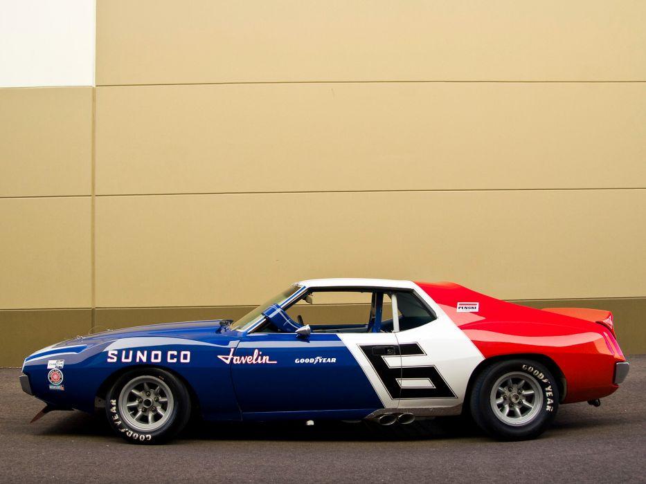1970 AMC Javelin Trans-Am race racing classic muscle hot rod rods     f wallpaper