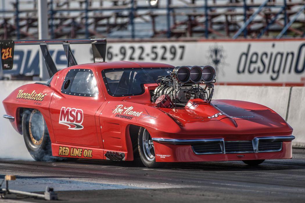 Nhra drag racing race hot rod rods chevrolet corvette - Drag race wallpaper ...