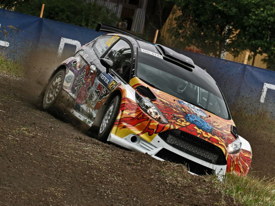 2013 Ford Fiesta R5 race racing r-5    f wallpaper