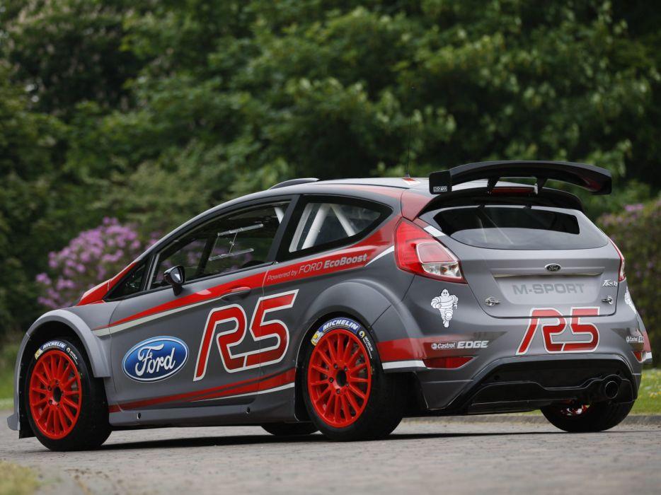 2013 Ford Fiesta R5 race racing r-5 d wallpaper