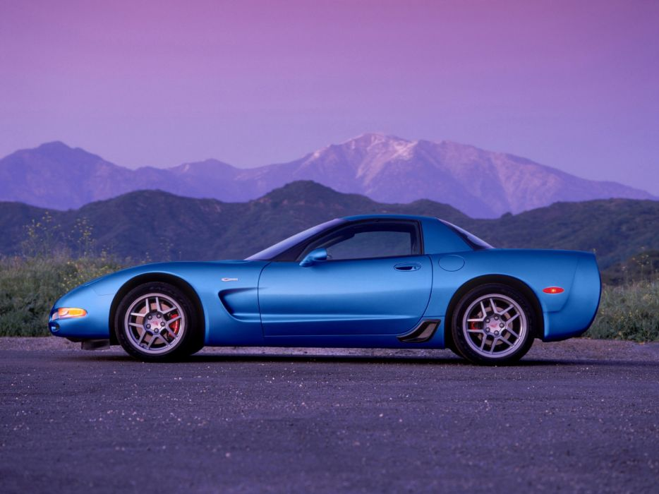 2001 Corvette Z06 C-5 supercar chevrolet muscle  d wallpaper