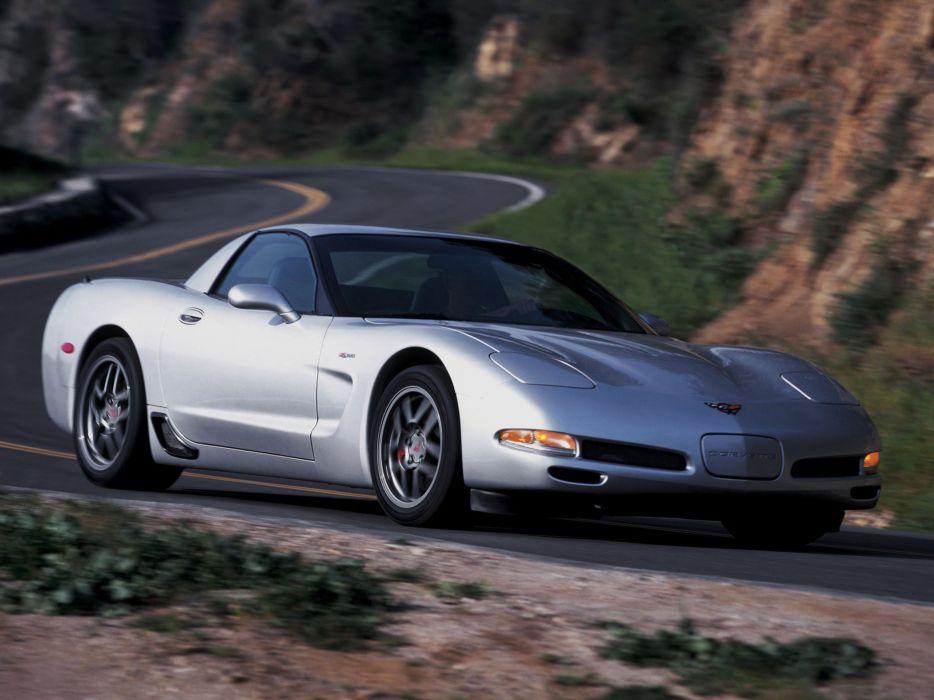 2001 Corvette Z06 C-5 supercar chevrolet muscle  d wallpaper