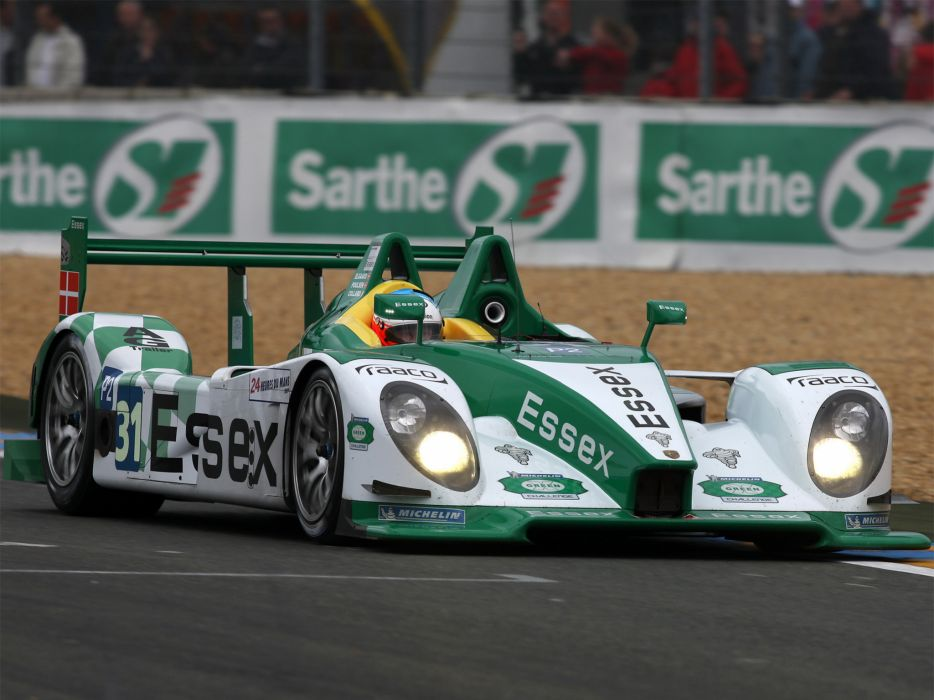 2008 Porsche R-S Spyder LMP2 le-mans race racing  k wallpaper