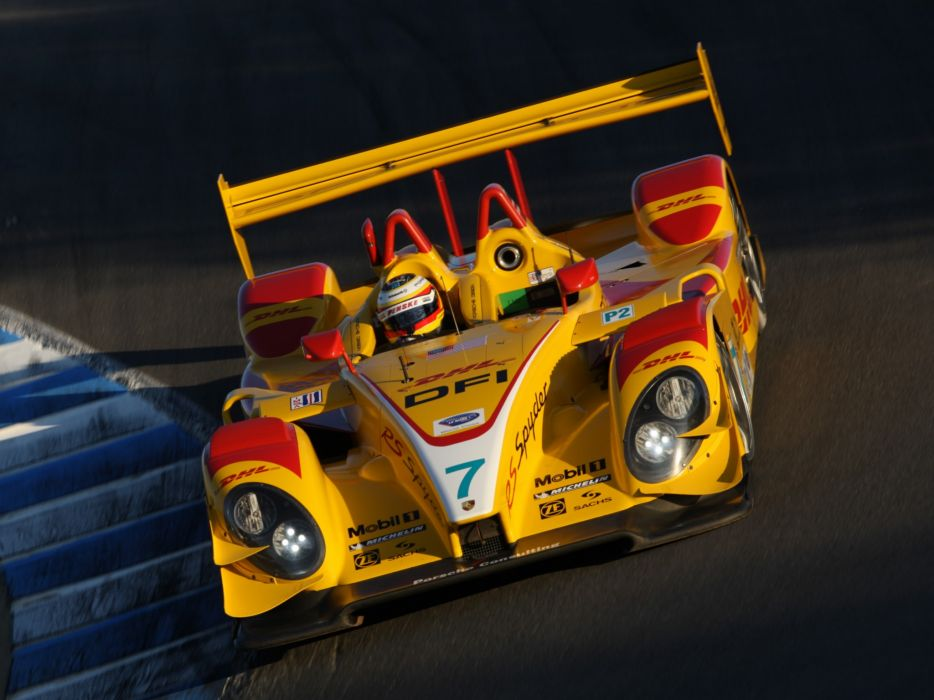 2008 Porsche R-S Spyder LMP2 le-mans race racing wallpaper
