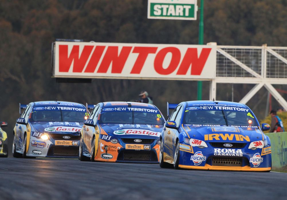 Aussie V Supercars Race Racing V  Ford R Wallpaper