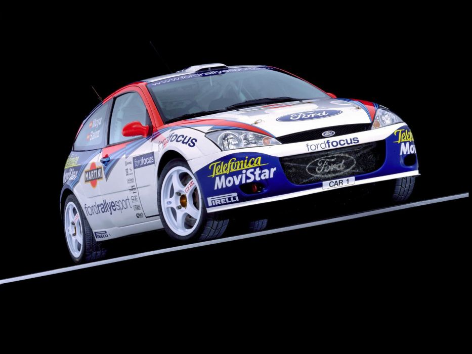 1999 Ford Focus WRC race racing         g wallpaper