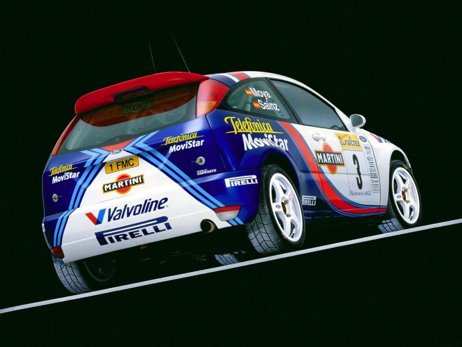 1999 Ford Focus WRC race racing      h wallpaper