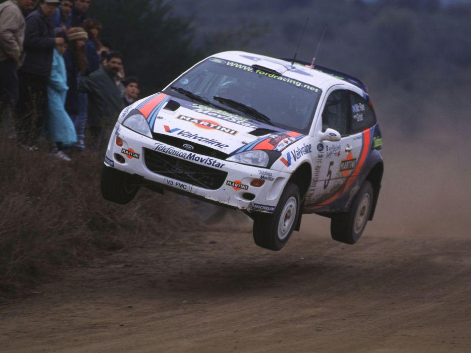 1999 Ford Focus WRC race racing      j wallpaper