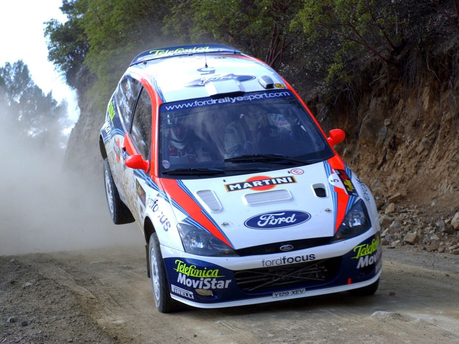 1999 Ford Focus WRC race racing    j wallpaper