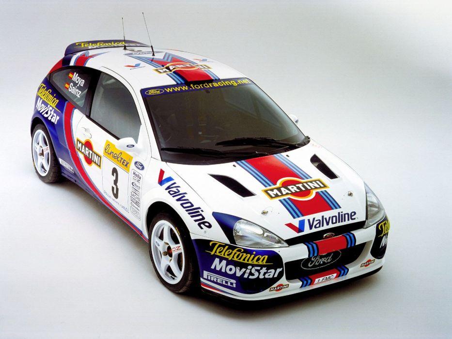 1999 Ford Focus WRC race racing wallpaper