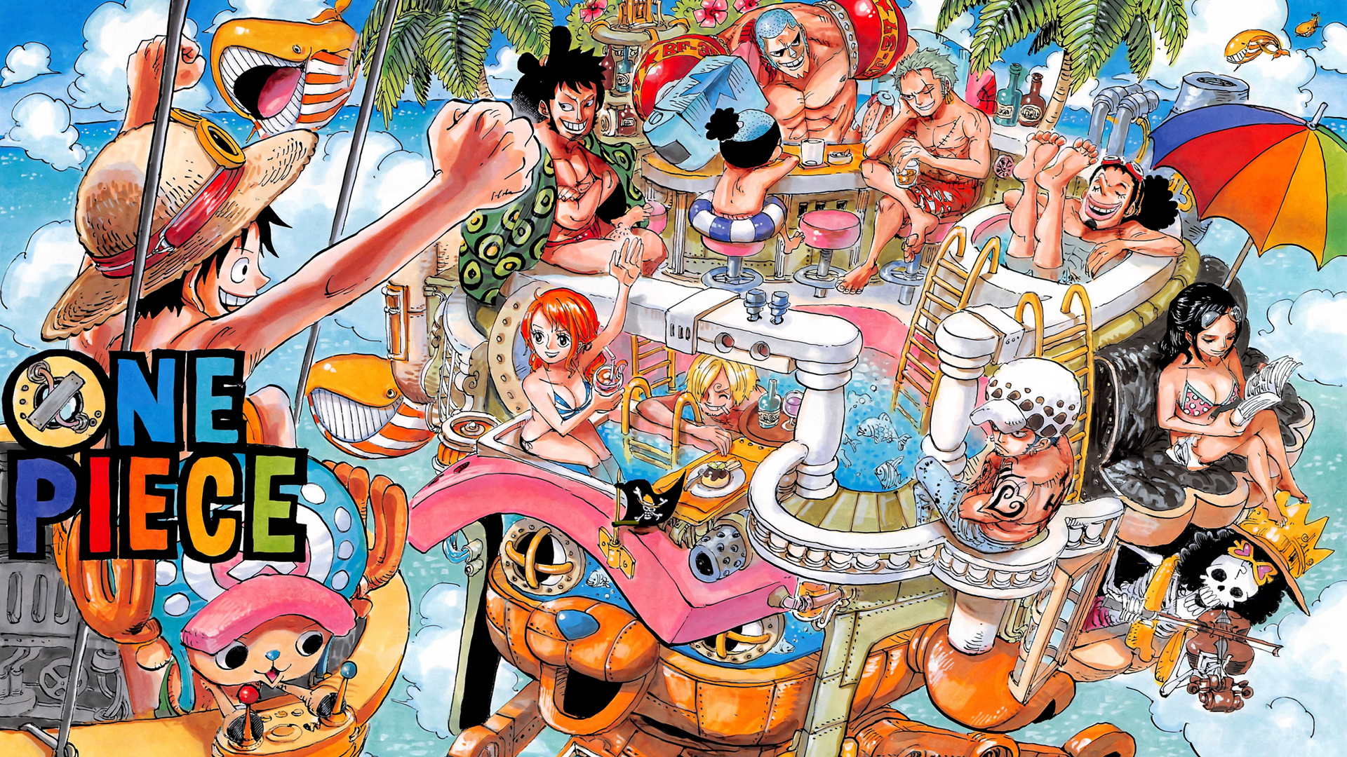 One Piece Two Years Later wallpaper | 1920x1080 | 132440 ...