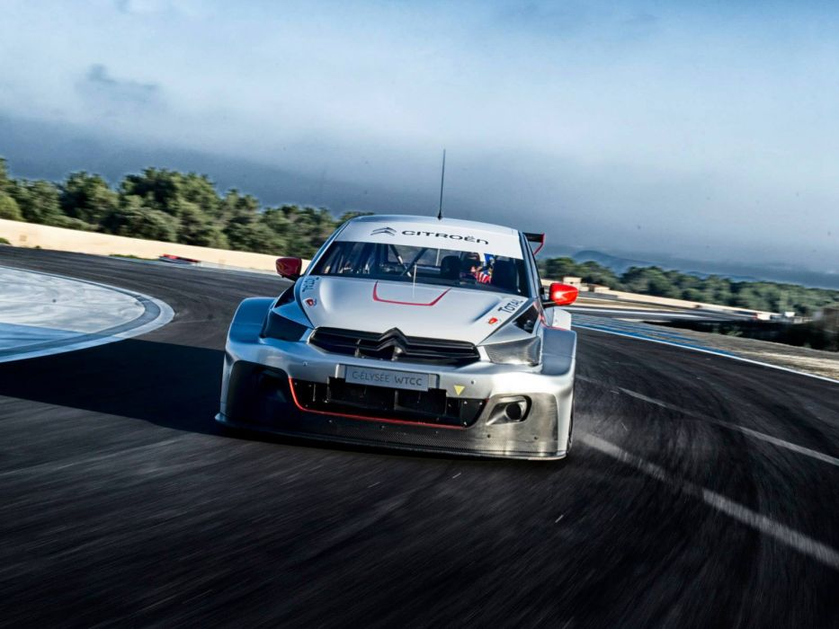 Citroen C-Elysee WTCC 2013 Prototype race racing    h wallpaper