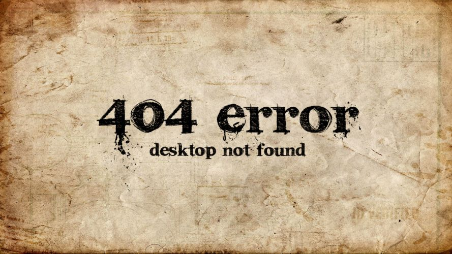 404 computer desktop wallpaper