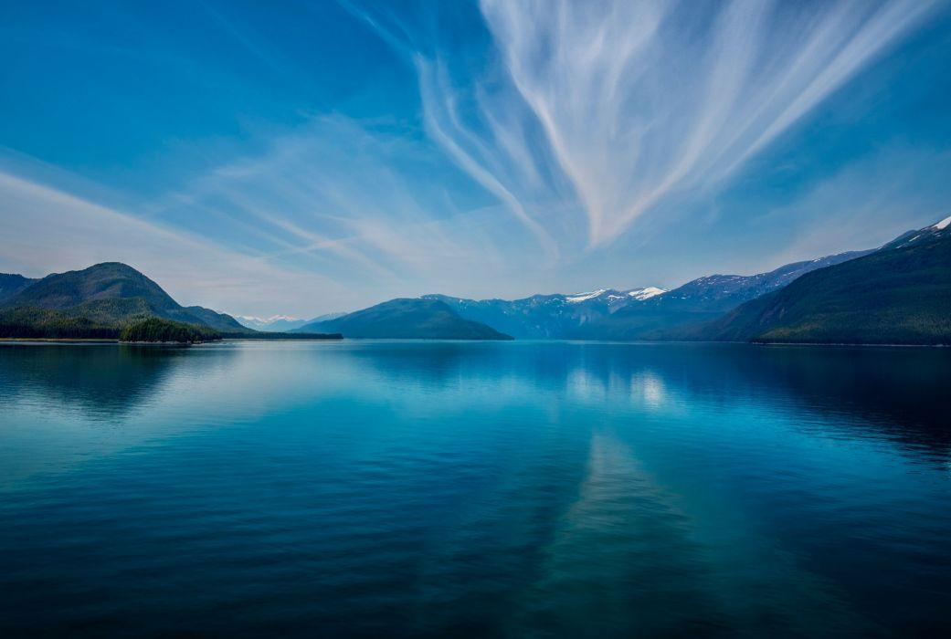 fjord mountains wallpaper