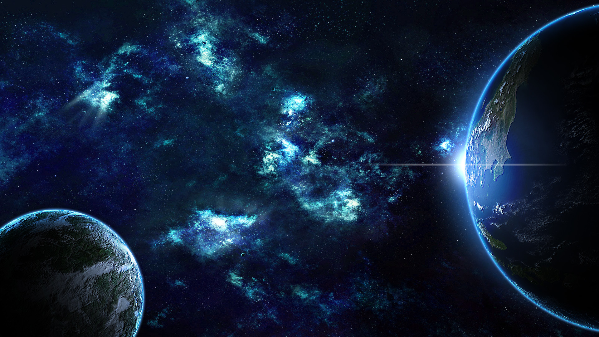3d wallpaper colorful planets - photo #20