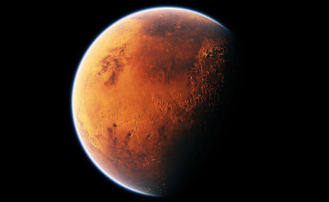 Mars Black wallpaper