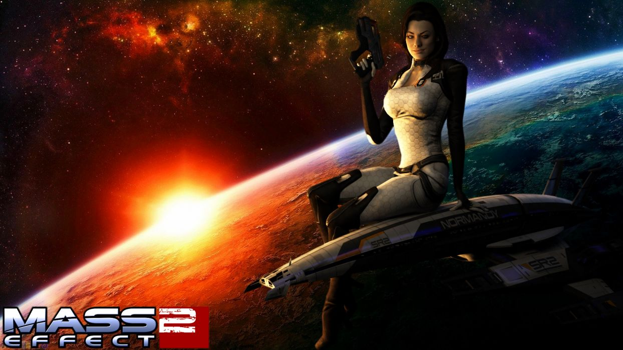 Miranda Lawson Mass Effect wallpaper