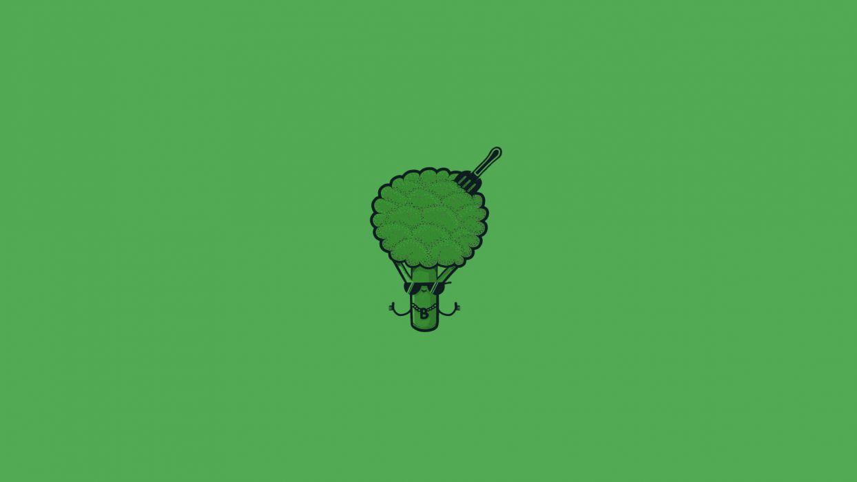 Green Broccoli wallpaper