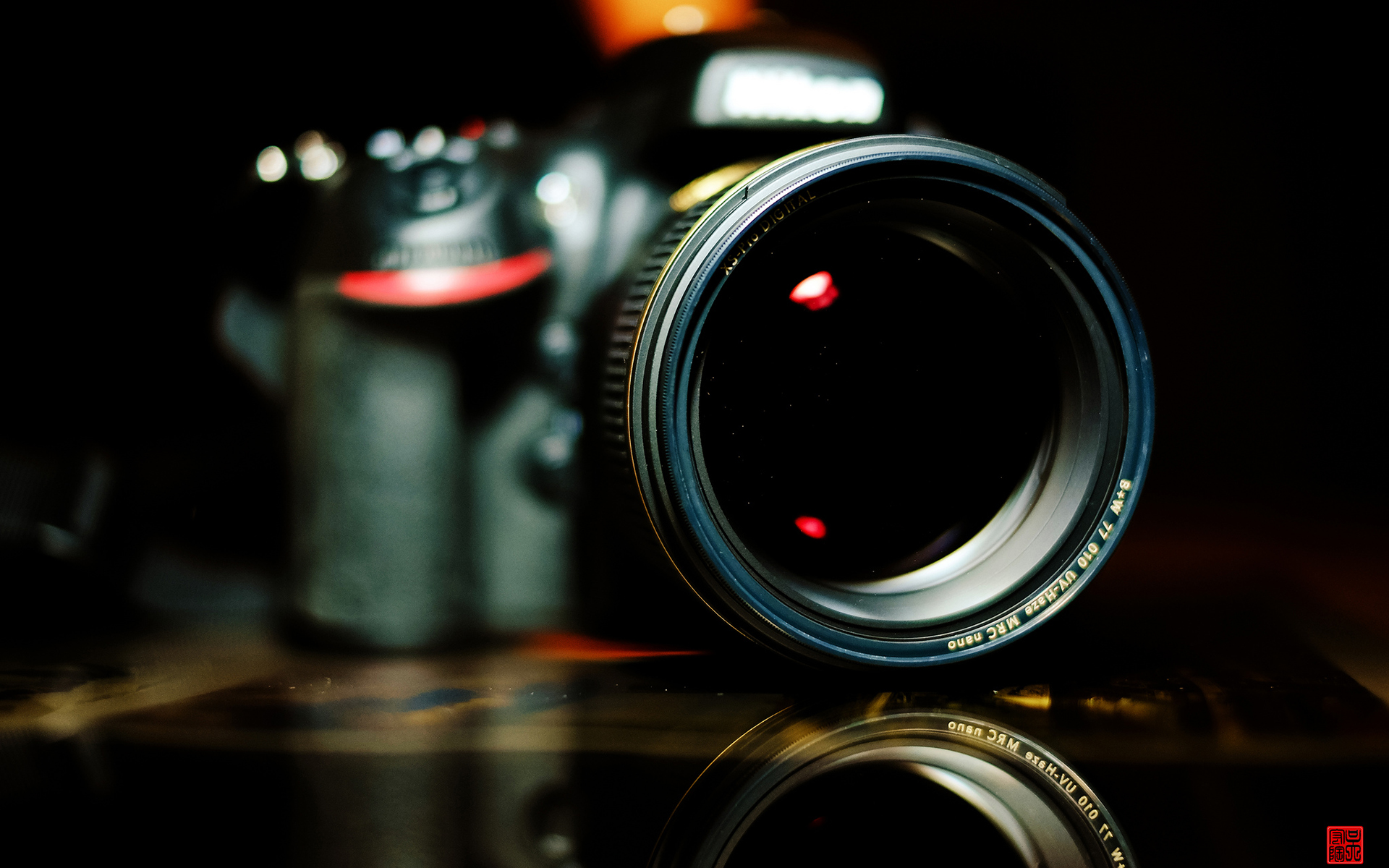 Camera Nikon Dslr Lens Macro Wallpaper 1920x1200 133027