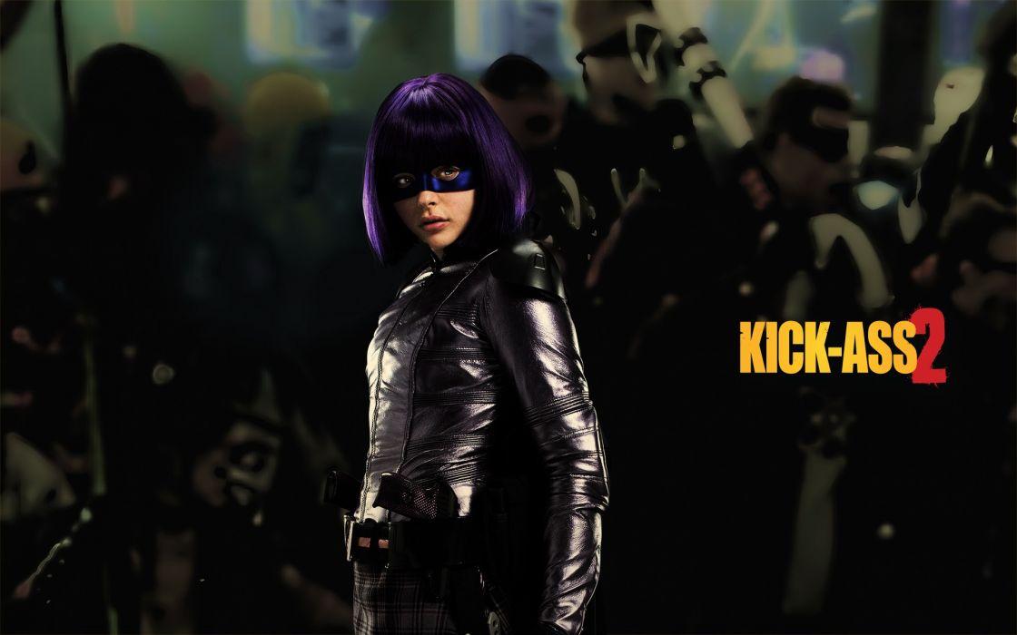 Chloe Moretz Kick Ass superhero wallpaper