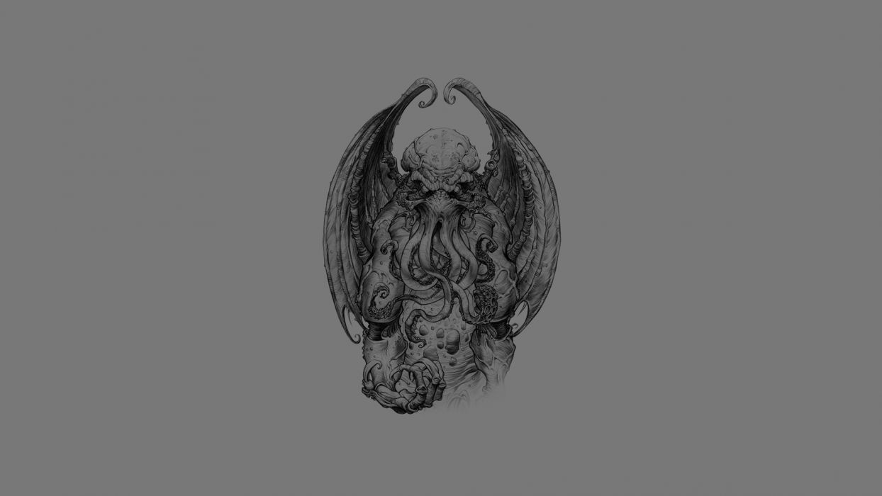 Cthulhu Monster fantasy wallpaper