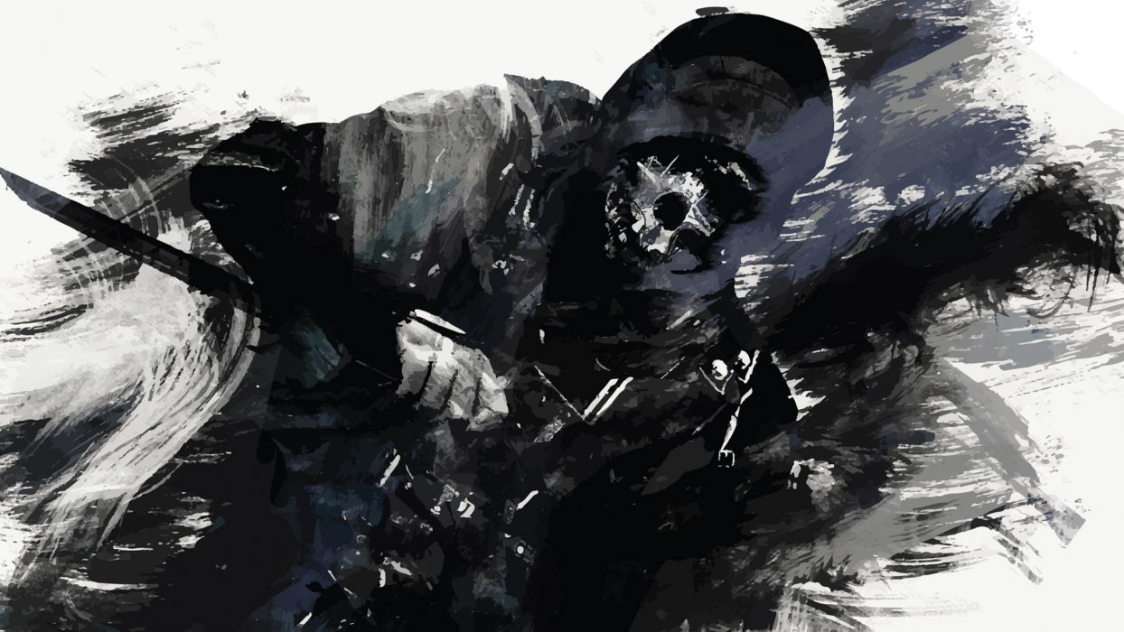 Dishonored Mask Drawing Sketch Warrior Anarchy Skull Dark Wallpaper 1920x1080 133036 Wallpaperup