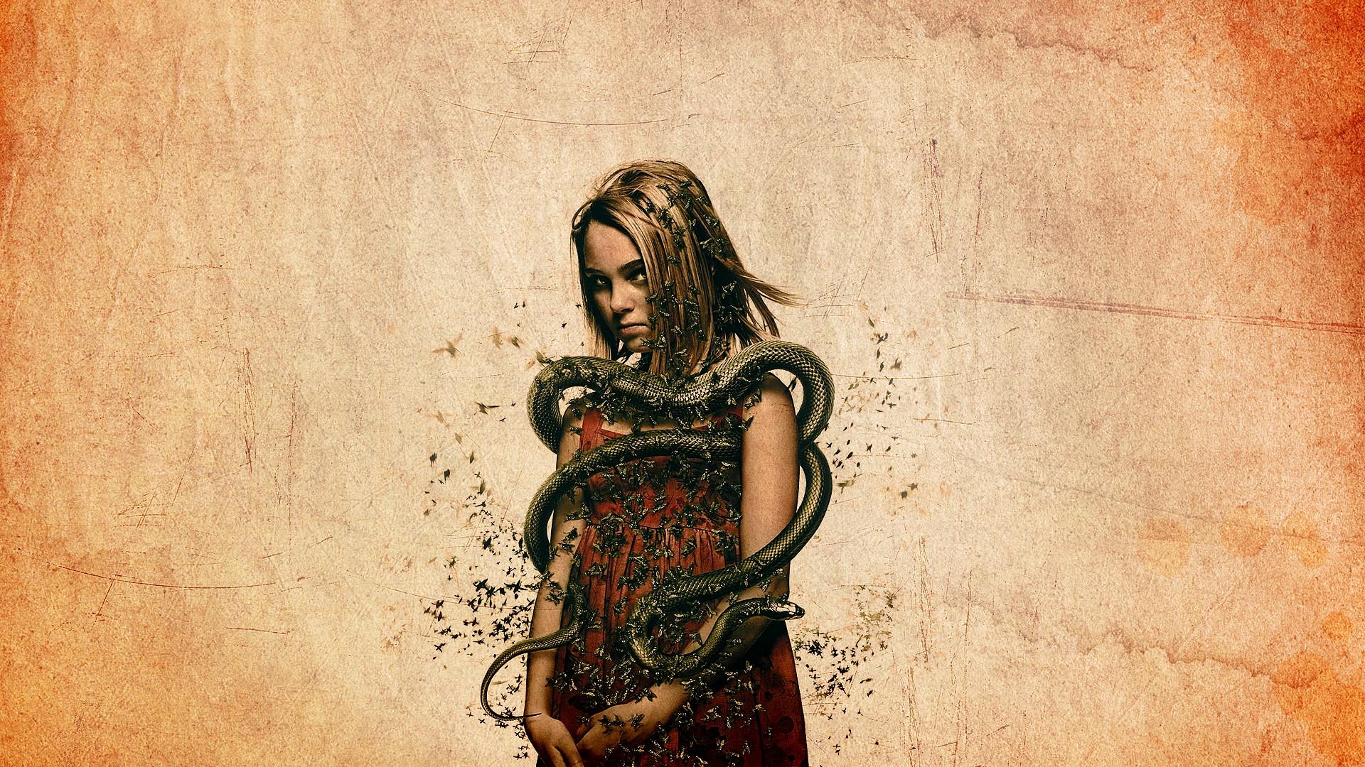 The Reaping Bugs Snake Annasophia Robb Dark Wallpaper X  Wallpaperup