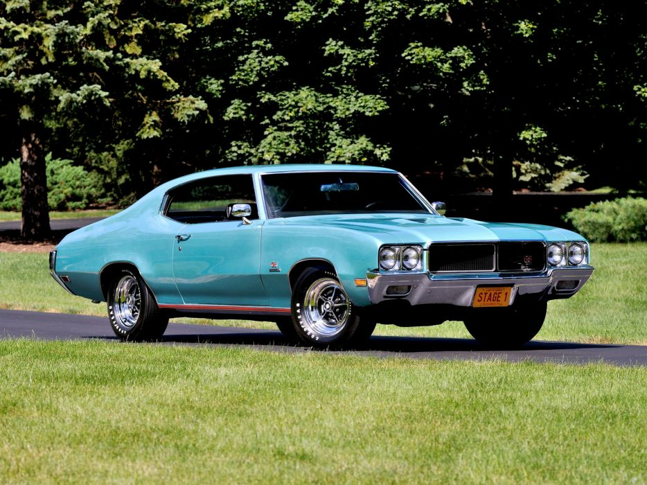 1970 Buick GS 455 Stage-1 44637 classic muscle g-s  gs wallpaper