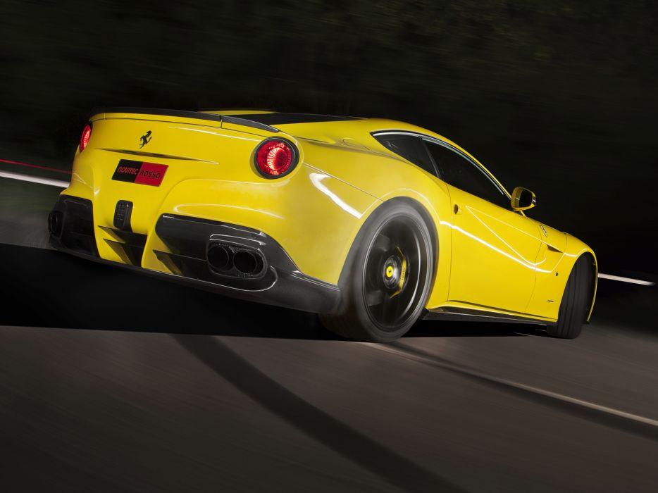 2012 Novitec Rosso Ferrari F12 berlinetta supercar  gs wallpaper