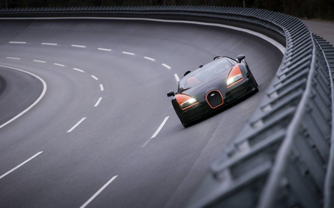 2013 Bugatti Veyron 16-4 Grand Sport Vitesse supercar  f wallpaper