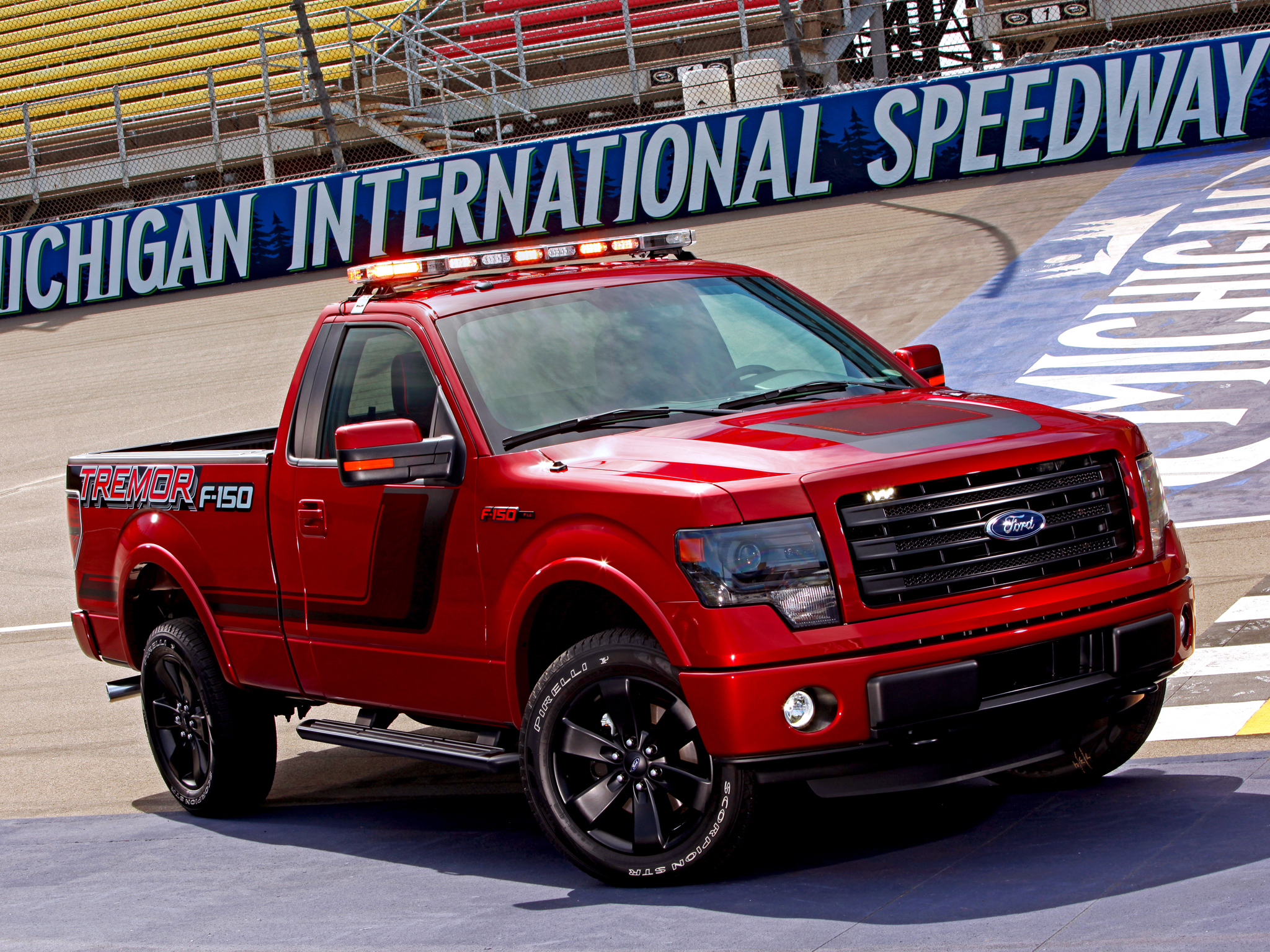 F 150 Tremor >> 2014 Ford F-150 Tremor EcoBoost NASCAR Pace Truck pickup race racing muscle f wallpaper ...