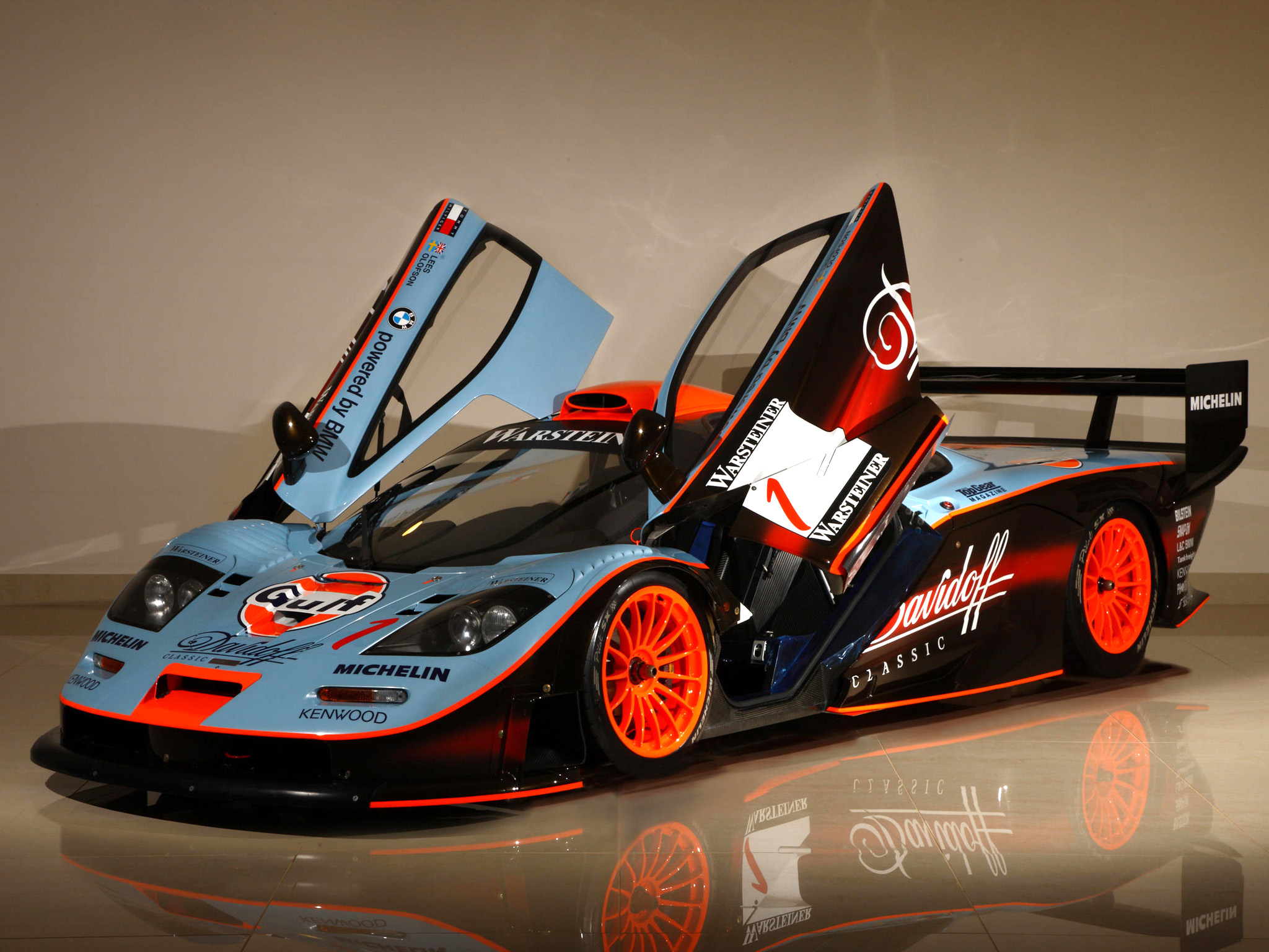 1997 Mclaren F1 Gtr Longtail Race Racing F 1 Ds Wallpaper