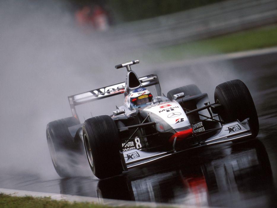 1998 McLaren Mercedes Benz MP4-13 formula one f-1 race racing  d wallpaper