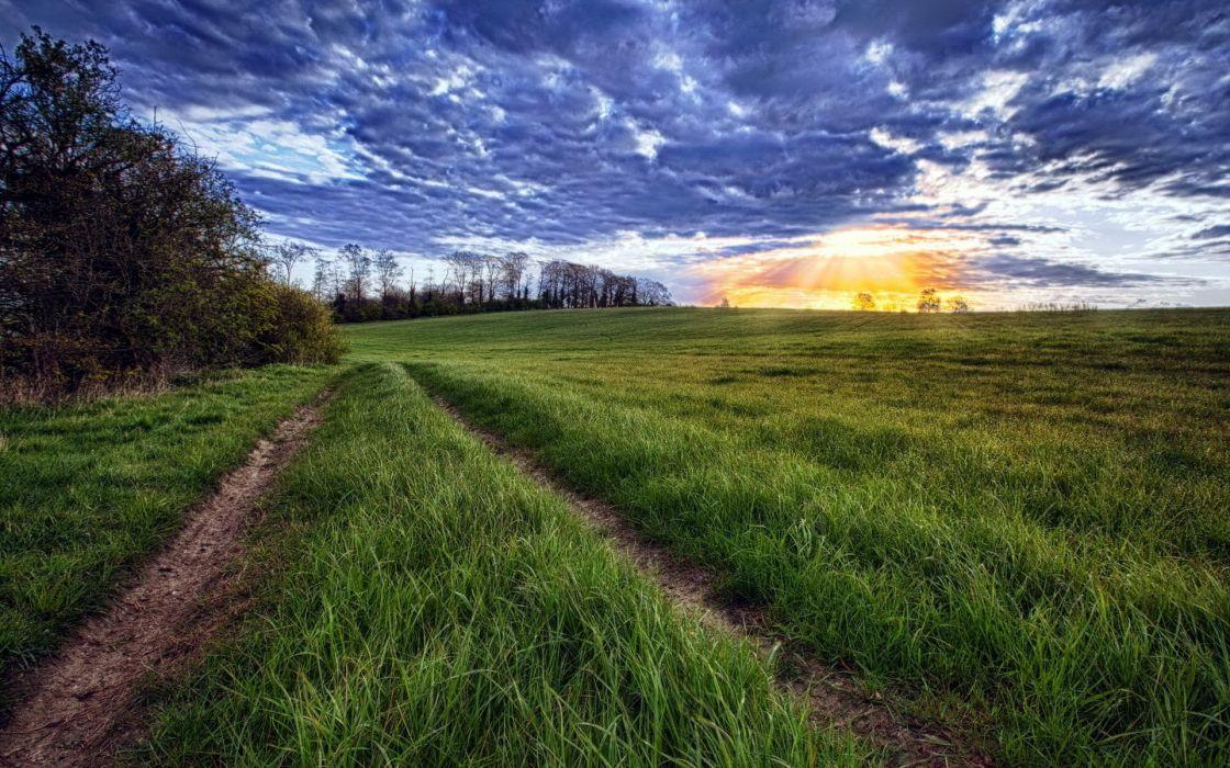 Road grass clouds horizon sun sunset wallpaper 1920x1200 133388 road grass clouds horizon sun sunset wallpaper altavistaventures Images