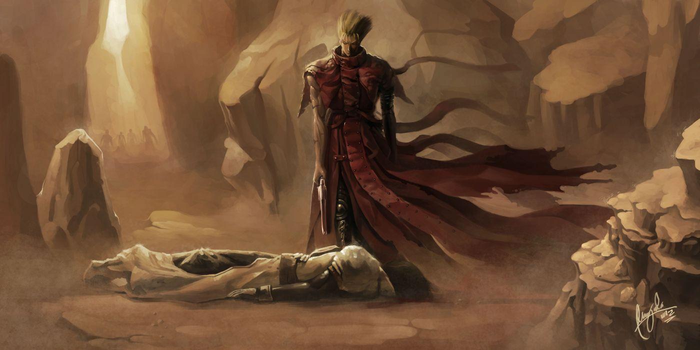 TRIGUN Legato Bluesummers anime game fantasy warrior death wallpaper