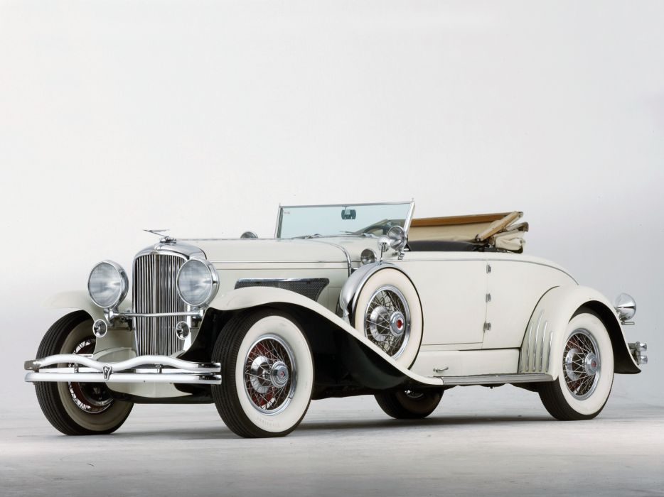1929 Duesenberg Model-J 132-2154 Convertible Coupe SWB Murphy luxury retro  f wallpaper