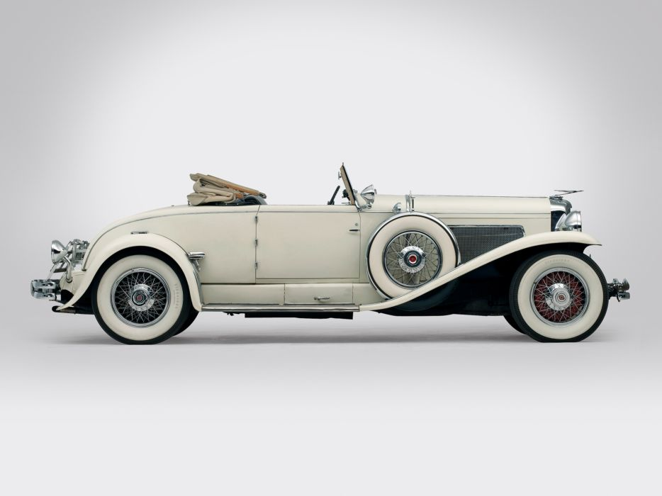 1929 Duesenberg Model-J 132-2154 Convertible Coupe SWB Murphy luxury retro wallpaper