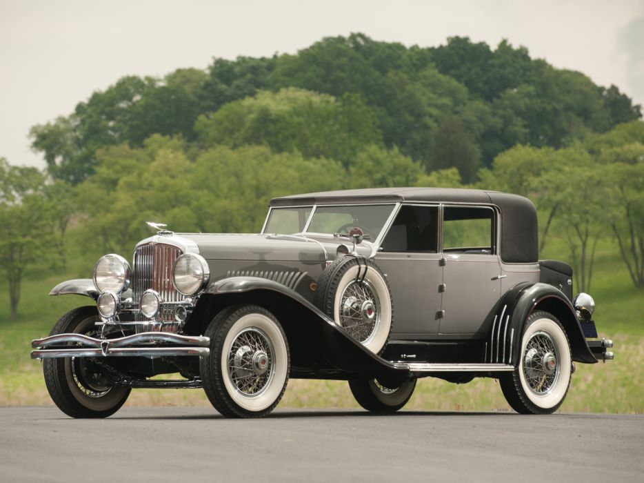 1929 Duesenberg Model-J 139-2163 Sport Sedan Murphy luxury retro  g wallpaper