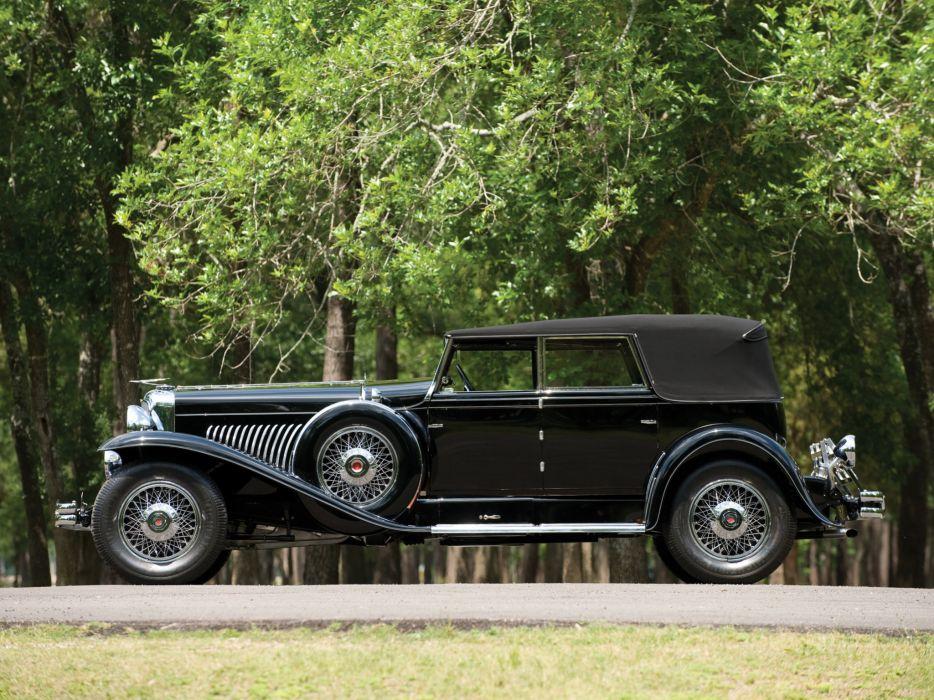 1929 Duesenberg Model-J 202-2222 Convertible Sedan LWB Murphy luxury retro  f wallpaper