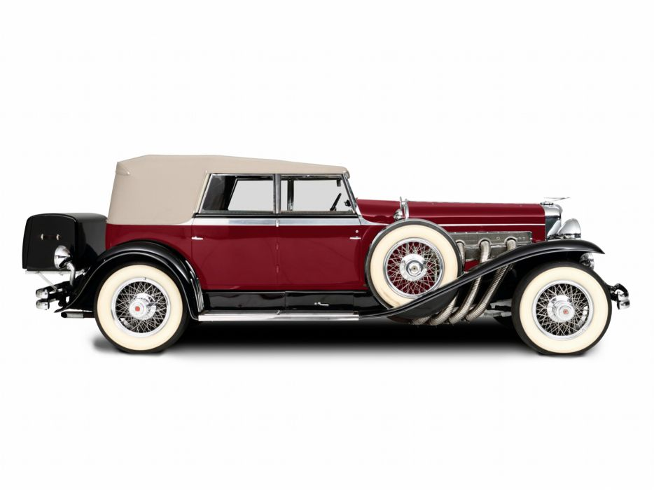 1929 Duesenberg Model-J 355-2225 Convertible Sedan SWB Murphy luxury retro    g wallpaper