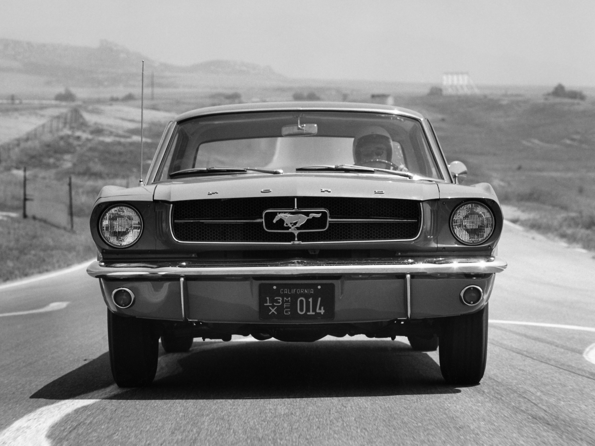 1964 ford mustang coupe muscle classic f wallpaper   2048x1536
