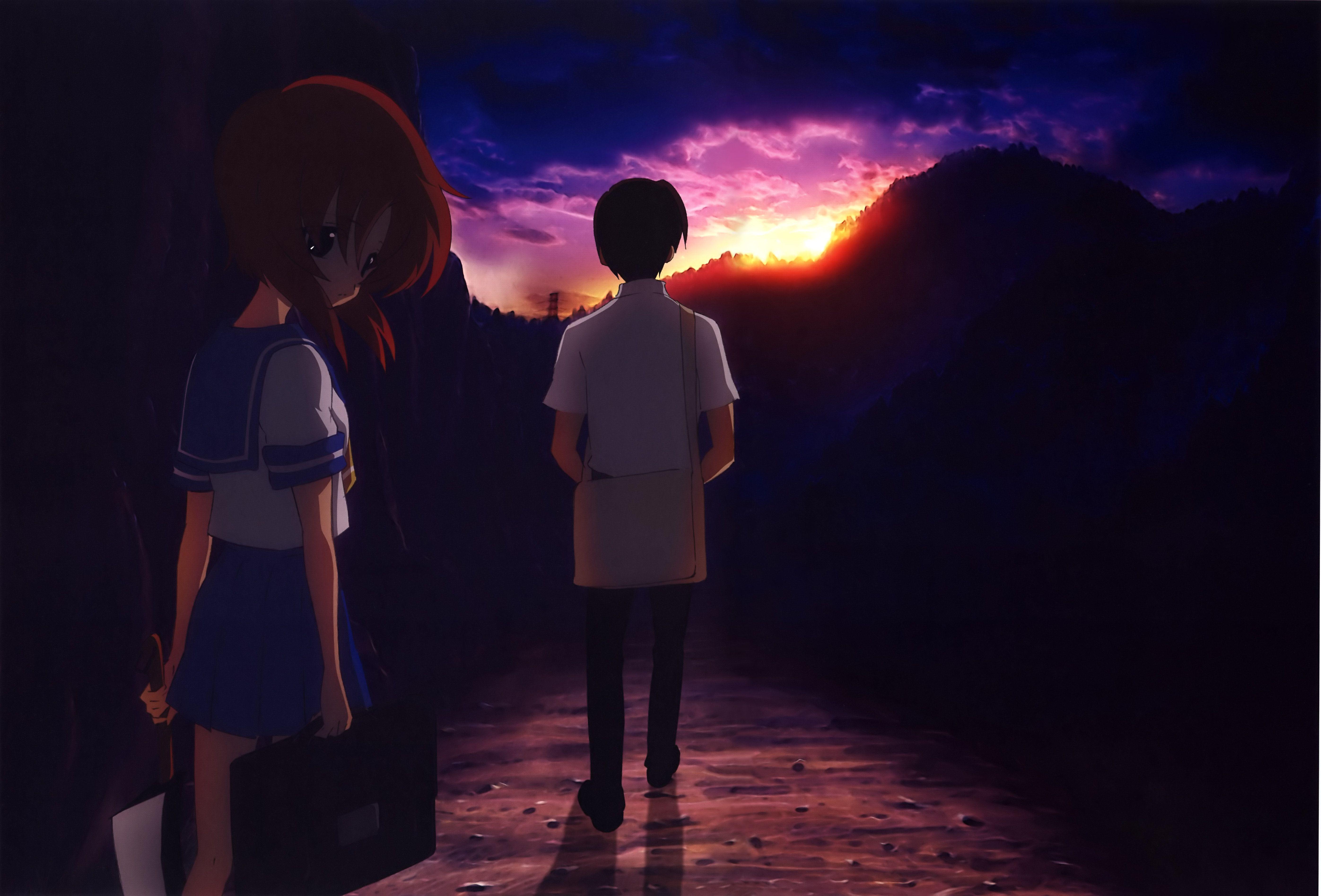 Higurashi no Naku Koro ni Wallpaper Higurashi no Naku Koro ni
