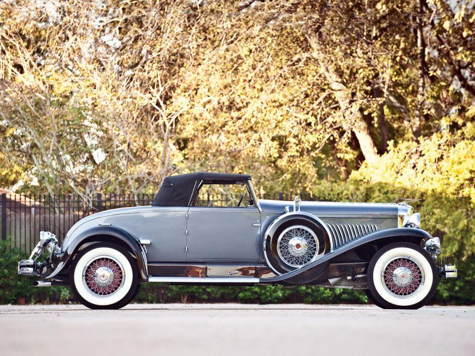 1930 Duesenberg Model-J 331-2347 Convertible Coupe Murphy luxury retro  f wallpaper