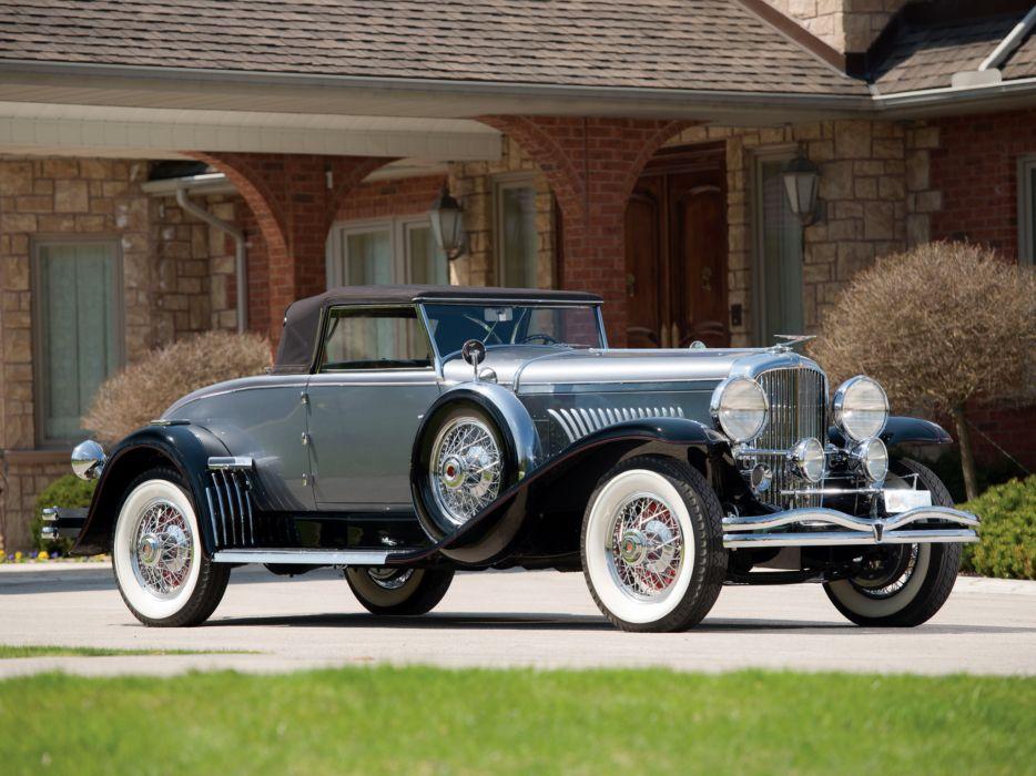 1930 Duesenberg Model-J 331-2347 Convertible Coupe Murphy luxury retro wallpaper
