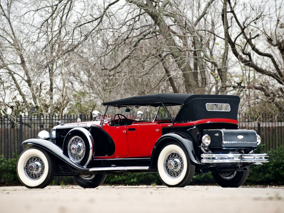 1930 Duesenberg Model-J 487-2336 Dual Cowl Phaeton LWB LeBaron convertible luxury retro   ge wallpaper