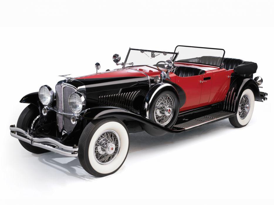1930 Duesenberg Model-J 487-2336 Dual Cowl Phaeton LWB LeBaron convertible luxury retro  j wallpaper