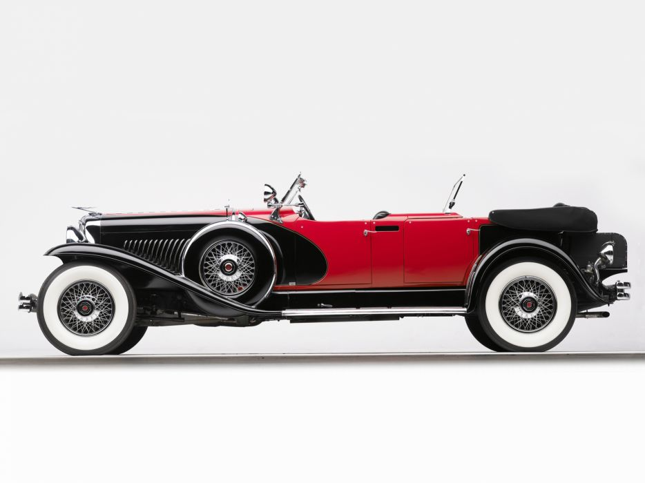 1930 Duesenberg Model-J 487-2336 Dual Cowl Phaeton LWB LeBaron convertible luxury retro h wallpaper